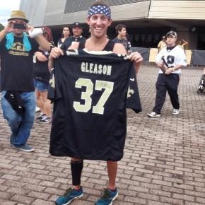 Man runs 125-miles to support the Steve GleasonFoundation