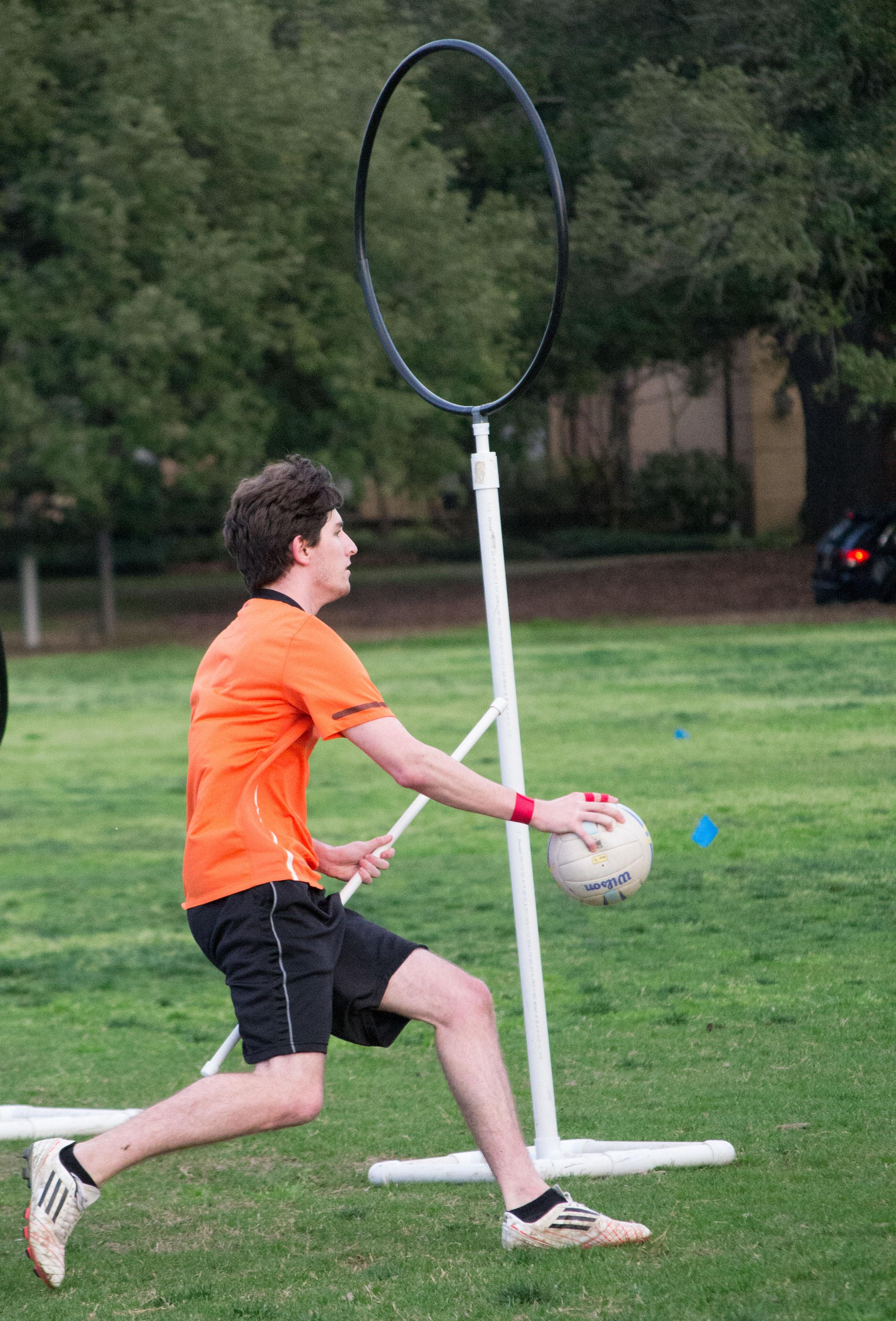 how to make quidditch goals