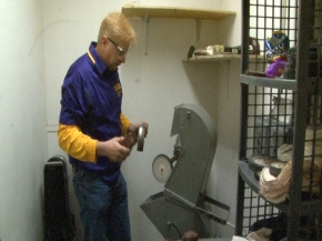 Repair Technician Keeps LSU Band in Top Form