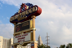 The Hollywood Casino sits less than a mile for the Louisiana State Capitol in Baton Rouge, La. In 1991, the Louisiana Legislature passed law, which made commercial gambling legal in the state. The 16 casinos statewide benefit the Louisiana by supporting 15,000 employees and paying millions of dollars in fees and taxes to state and local governments each year, according to the Louisiana Casino Association.